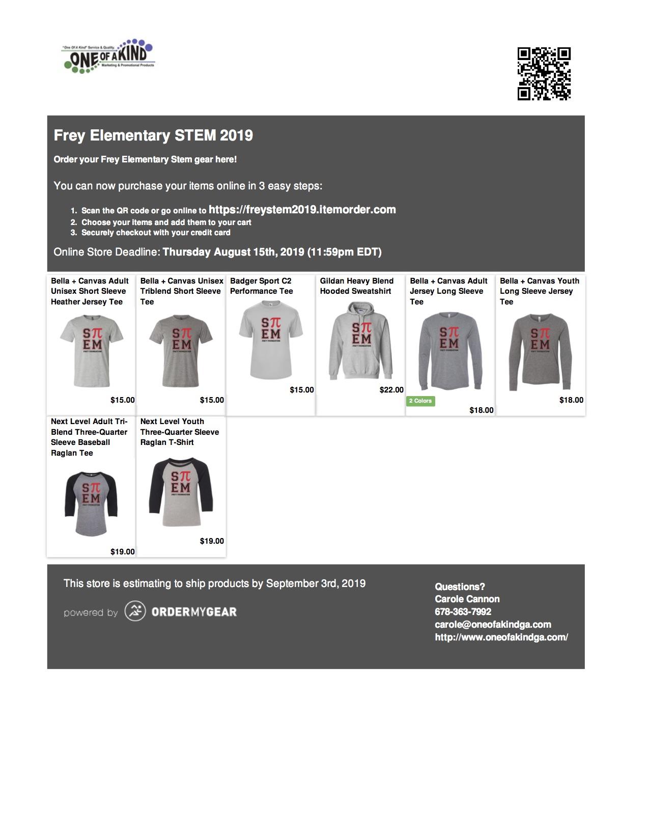 Purchase Stem Wear Frey Foundation